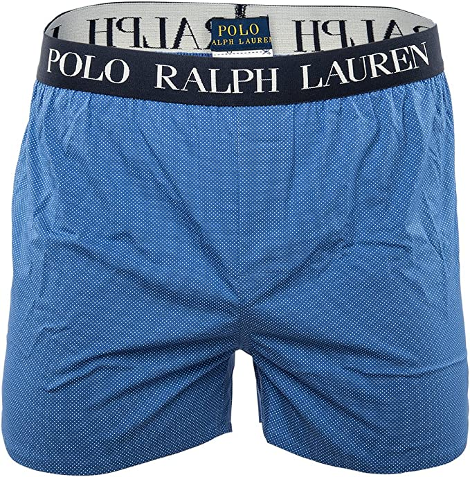 POLO RALPH LAUREN Hombres Slim Fit Single Boxer, Puntos ...