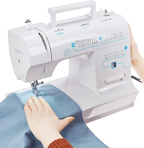 AmazonBasics - Máquina de coser doméstica multifunción: Amazon.es ...