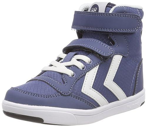 4fac80fc63a Hummel Unisex Kids' Stadil Ripstop Mono JR Hi-Top Trainers, Blue (Vintage  Indigo 8588), 8 UK 8 UK: Amazon.co.uk: Shoes & Bags