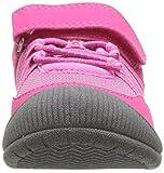 OshKosh B'Gosh Girls' Nova Sneaker, Fuchsia, 12 M