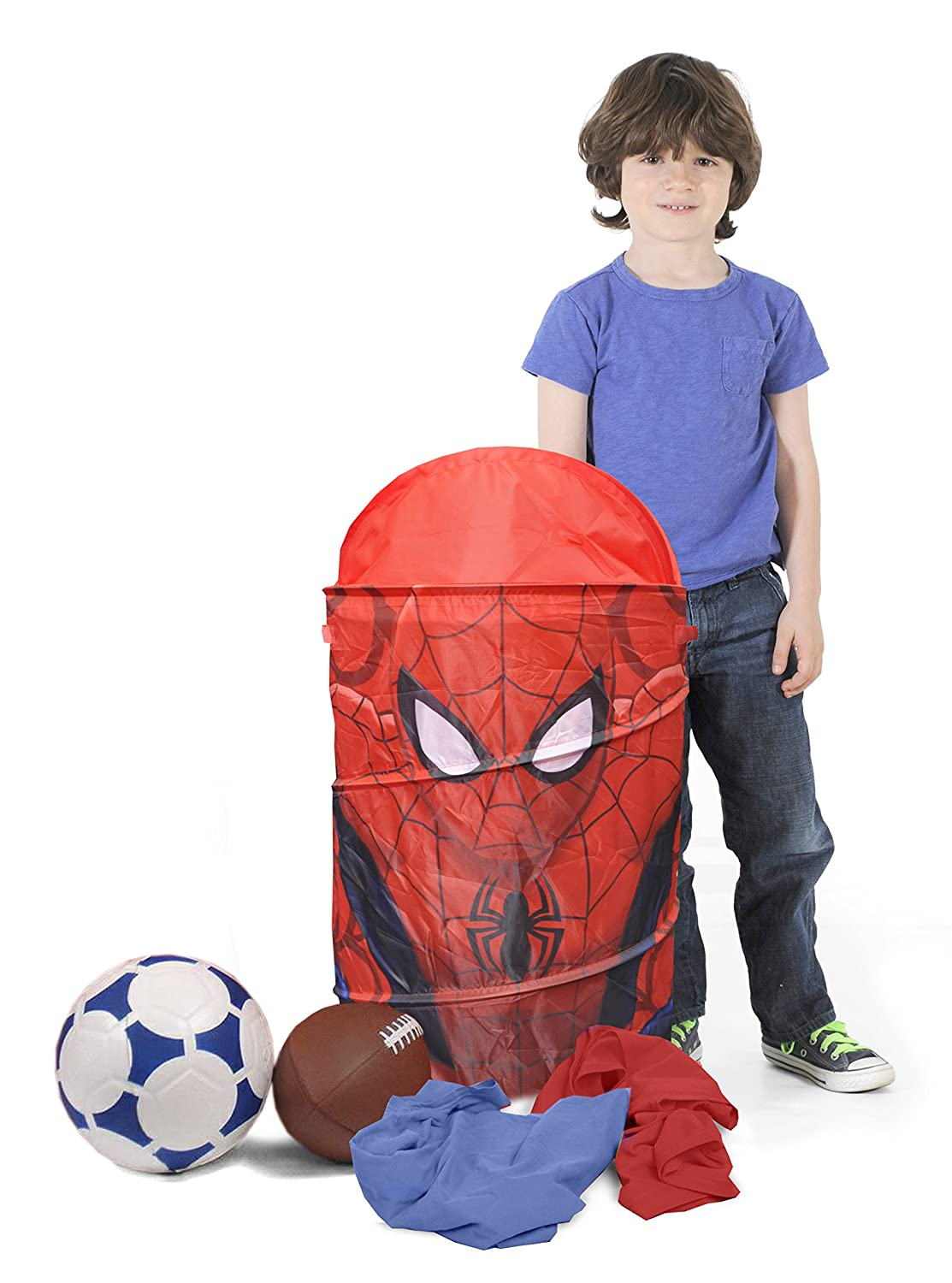 distribución global Marvel Spider-Man Collapsible Hamper Hamper Hamper with Retractable Cover by Marvel  directo de fábrica