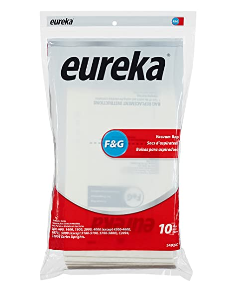 Genuine Eureka F&G Vacuum Bag 54924C - 10 bags