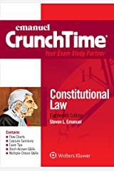 Emanuel CrunchTime for Constitutional Law (Emanuel CrunchTime Series) Kindle Edition