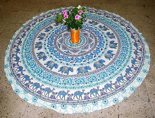 Esterilla de yoga Mandala toalla de playa redondo Mandala ...