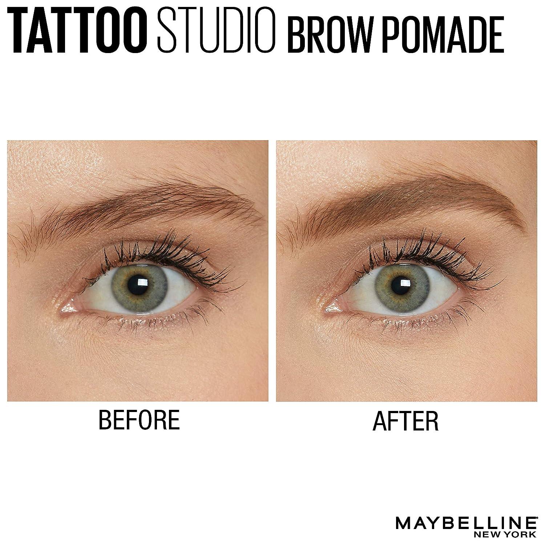 Amazon Maybelline New York Tattoostudio Brow Pomade Long