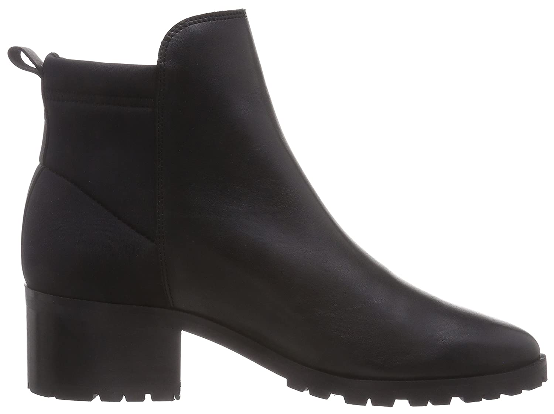 PIECES Psvalah Leather Boot Black Noos, Damen Halbschaft Schlupfstiefel,  Schwarz (Black), 38 EU: Amazon.de: Schuhe & Handtaschen