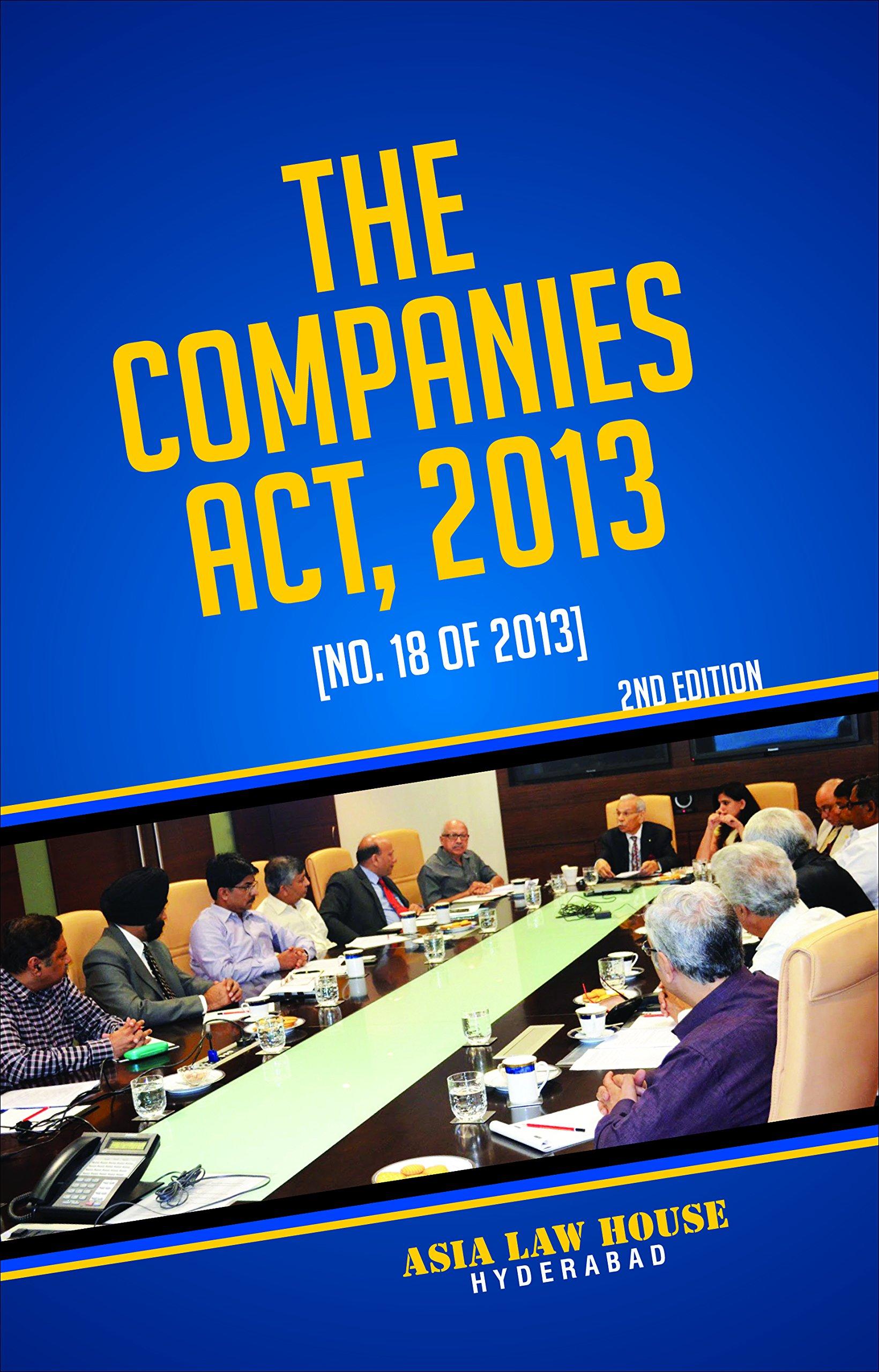 Companies Act, 2013 pdf