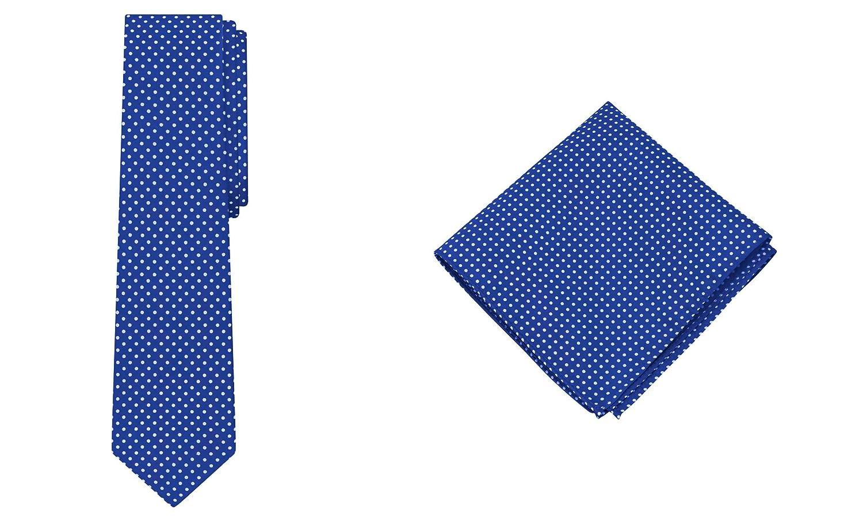 Jacob Alexander Polka Dot Print Boys Regular Tie Pocket Square Set big discount