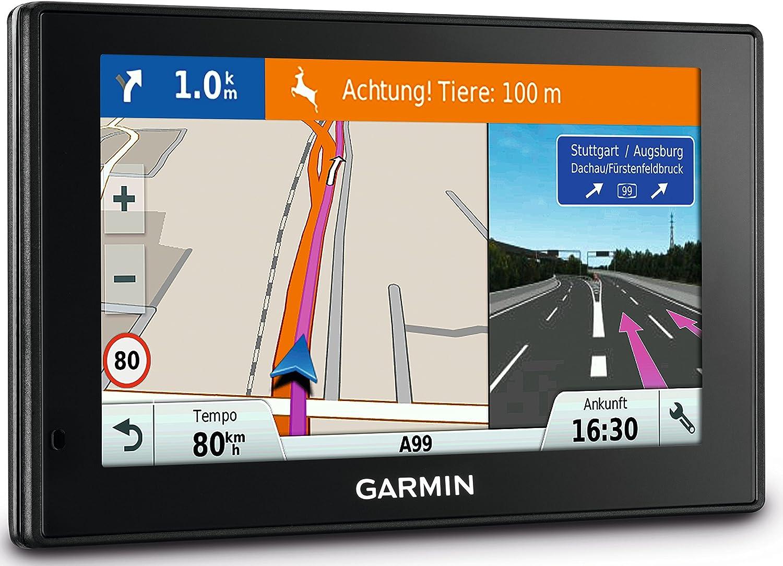 Garmin DriveSmart 60 EU LMT-D - Navegador GPS con mapas de por Vida y tráfico Digital (Pantalla de 6