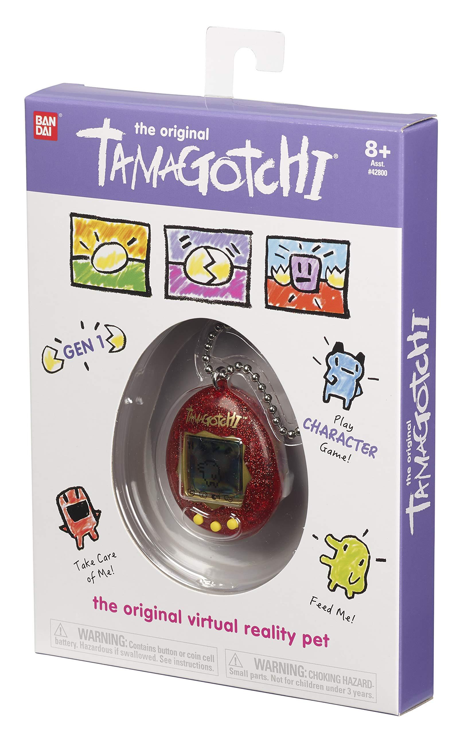 Tamagotchi Electronic Game, Red Glitter by Tamagotchi (Image #4)