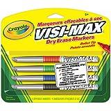 Crayola 4 Dry Erase Markers, Fine Line