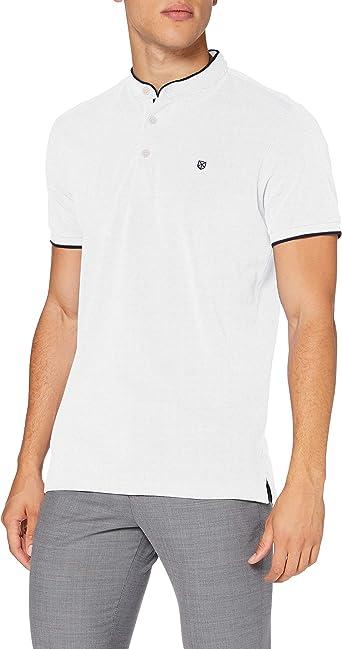 Jack & Jones Jpraxel Bla. Mao Polo SS STS Camisa Hombre: Amazon.es: Ropa y accesorios
