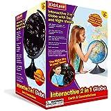 Interactive Kids Globe Globe For Kids, World Globe For Kids, 2 In 1 Globe Earth And Constellation