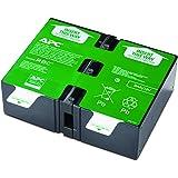 APC APCRBC124 - Ersatzbatterie für Unterbrechungsfreie Notstromversorgung (USV) von APC - passend für Modelle BR1200GI / BR1500GI und andere