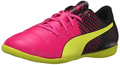 5edfbe2ec8c PUMA Evopower 4.3 Tricks IT JR - K Limited Edition Soccer Cleat Pink Glo  Safety