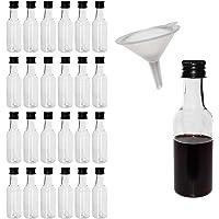 BELLE VOUS Mini Botellas de plástico 24 Piezas