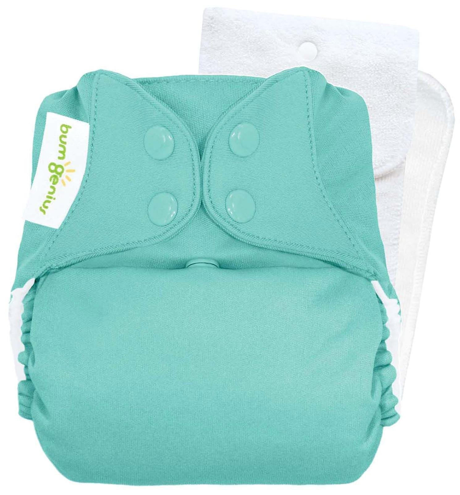 bumGenius Original One-Size Pocket-Style Cloth Diaper 5.0 (Mirror)