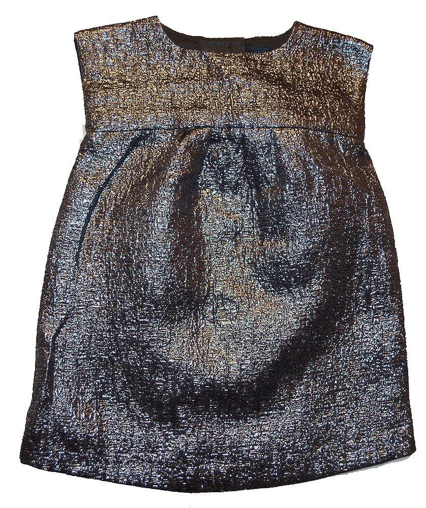 BabyGap DRESS ベビーガールズ カラー: ブラック B071GS1GYN