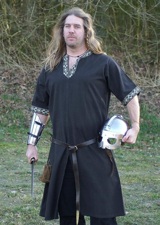 Camisas de manga corta medievales, para juegos de rol, de la Edad media, los vikingos y romanos: Amazon.es: Ropa y accesorios