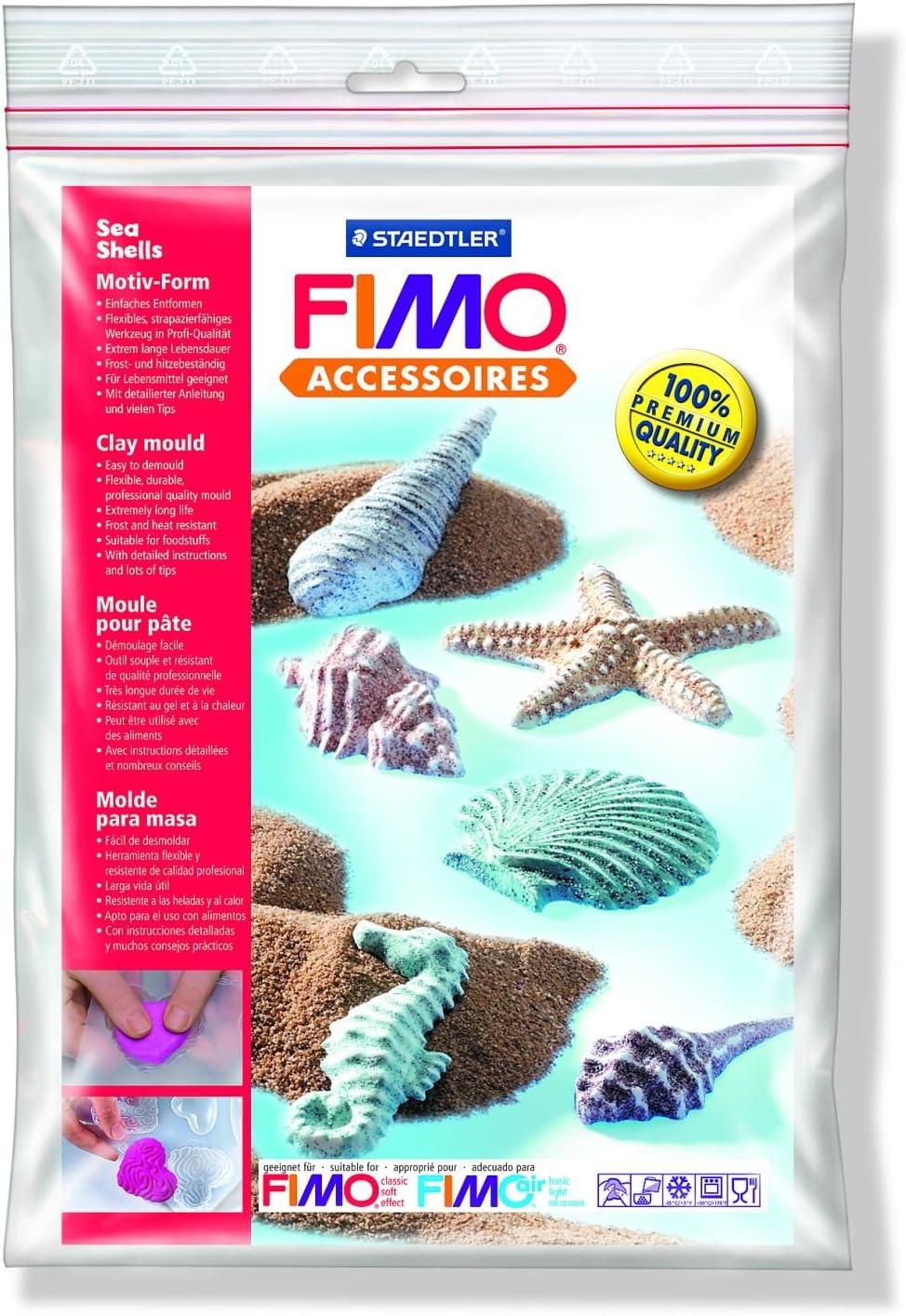 Staedtler Fimo/â Accessoires Polybag Moule 9 Motifs Papillons 9 x 4 cm