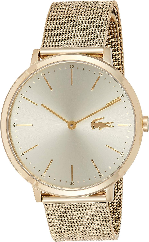 Lacoste Reloj Análogo clásico para Mujer de Cuarzo con Correa en Acero Inoxidable 2001000