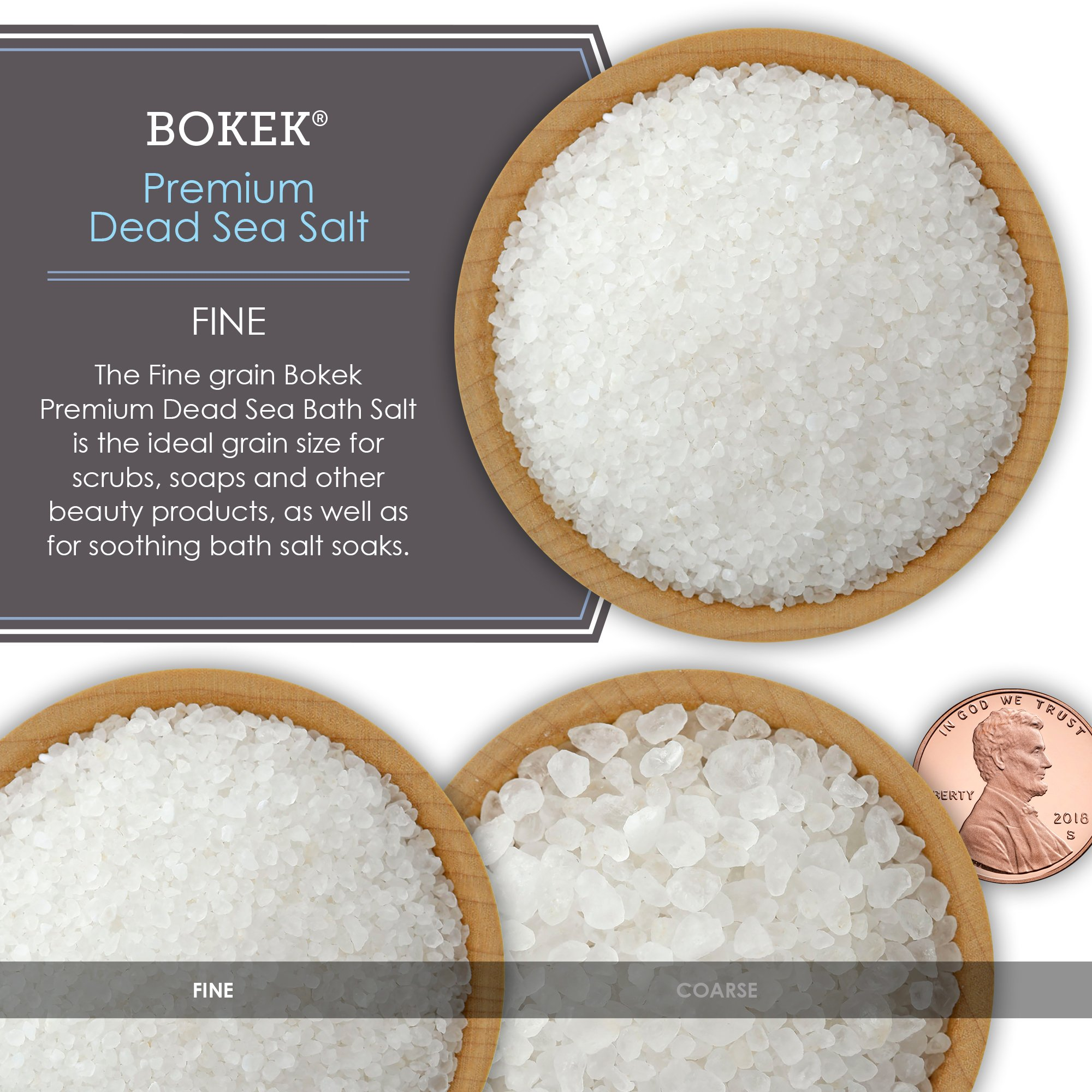 Bokek Dead Sea Salt, Fine - 55 lb Bag by SaltWorks (Image #6)