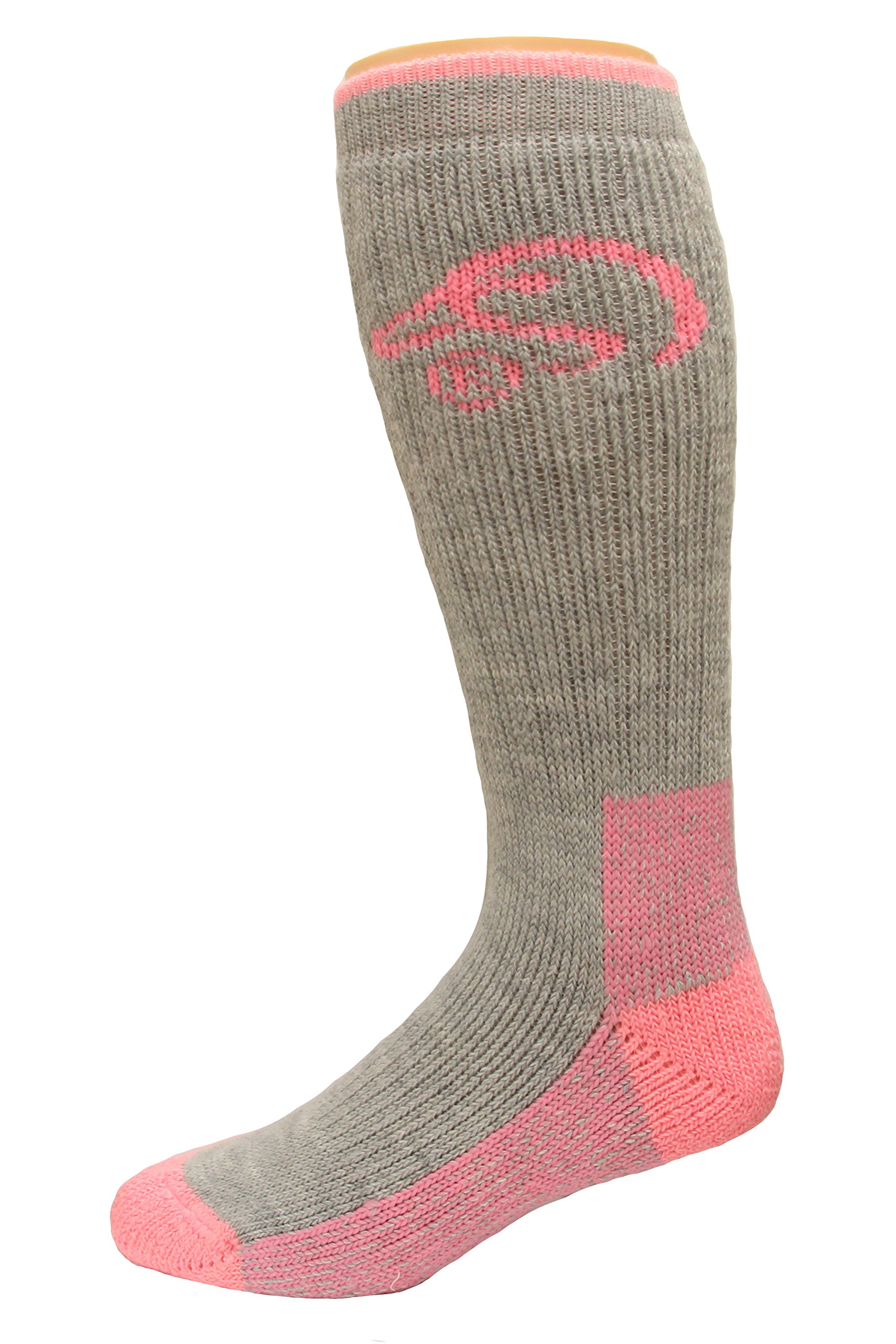 Ducks Unlimited Women's Comfy House Socks, Gray, Medium