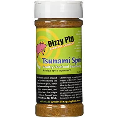 Dizzy Pig BBQ Tsunami Spin Rub Spice - 7.6 oz