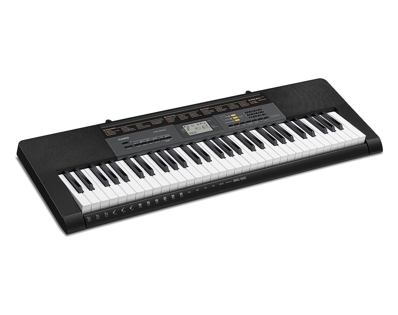 CASIO CTK-2500 - Instrumento musical, Teclado estándar con 61 teclas estilo piano CTK-2500K7