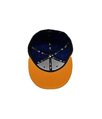 New Era 59Fifty Hat Tigres De Monterrey Soccer Club Liga MX Blue Gold  Headwear Cap at Amazon Men s Clothing store  bd6a308dae7