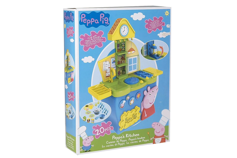 La Cocina De Peppa Pig | Peppa Pig 1684278 Spielzeug Kuche Im Peppa Wutz Design Amazon De