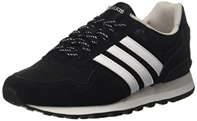 check out 3662d d8368 adidas Damen 10k Sneaker Mehrfarbig (Core BlackFTWR WhiteGrey One F17)