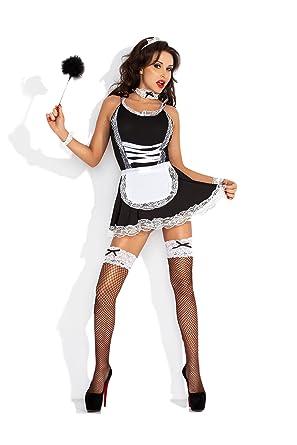 Kostüm Cosplay Uniform Zimmermädchen Damenkostüm Polizistin Amazinggirl Krankenschwester Sexy Accessoire Schulmädchen 5j34ALR