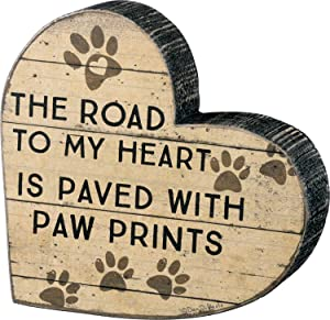 Primitives by Kathy Chunky Heart Shape Paw Prints