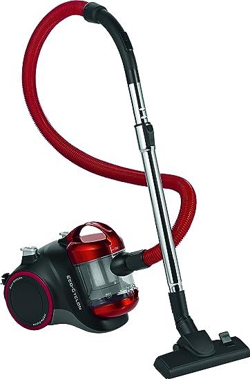 Clatronic BS1293 Aspiradora ciclónica sin bolsa, eficiencia energética B, 1000 W, 1.5 litros, 82 Decibelios, Rojo: Clatronic: Amazon.es: Hogar