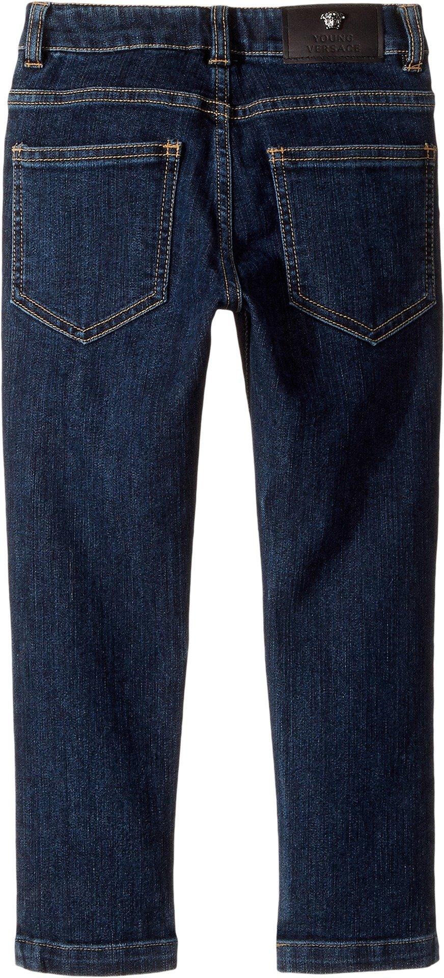 Versace Kids  Baby Boy's Faded Denim Pants (Toddler/Little Kids) Denim Jeans by Versace
