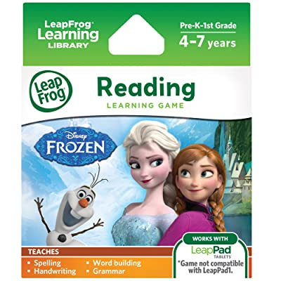 LeapFrog Disney Frozen Learning Game (for LeapPad Platinum, LeapPad Ultra, LeapPad2, LeapPad3): Toys & Games