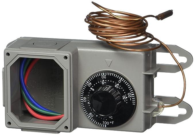 Peco TRF115-007 Industrial NEMA 4X termostato, Gris