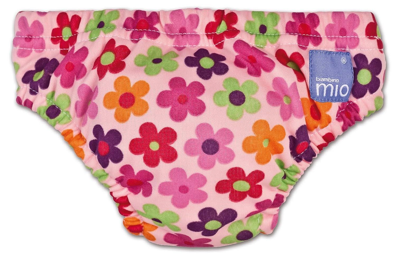 Bambino Mio Swim Nappy, Pink Daisy, Size: Small (Manufacturer Size: 5-7kgs, 11-16lbs) 11-51012