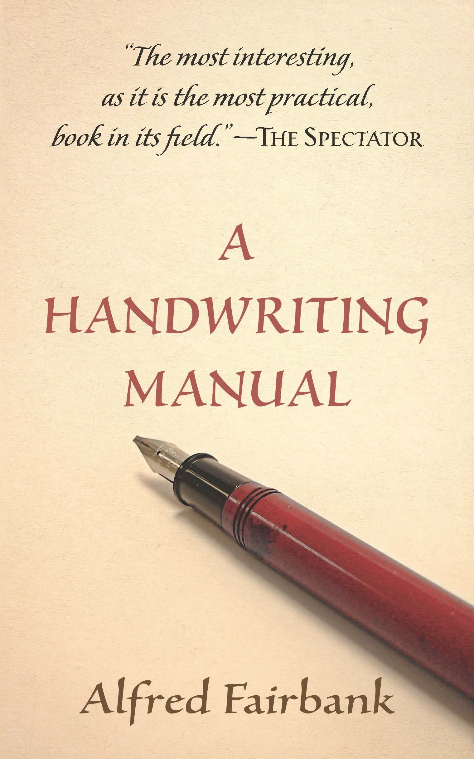 A Handwriting Manual by Dover Publications