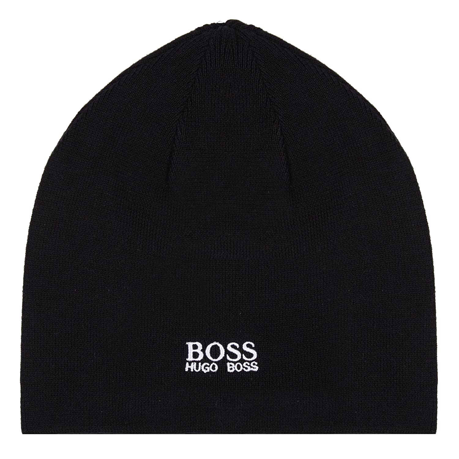 392f9517f66 2017 Mercedes-AMG F1 Formula 1 BLACK Team Beanie Hat by Hugo Boss Adult One  Size  Amazon.co.uk  Sports   Outdoors