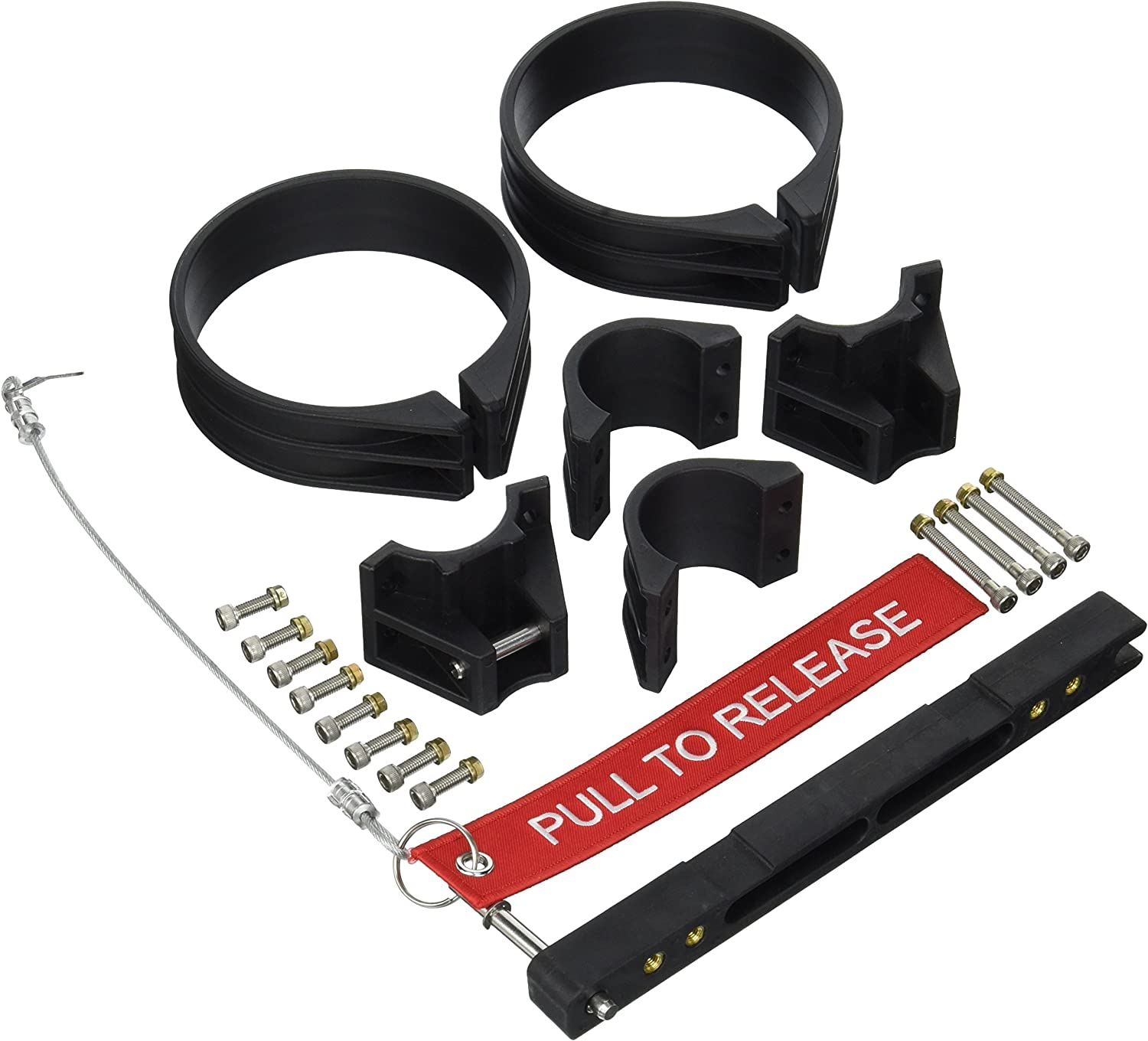 H3R Performance NBR301 Black 1-5//8 Extreme Duty Bracket For1-5//8in Tubing