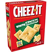 Cheez-It Baked Snack Cheese Crackers, White Cheddar, 7 oz Box