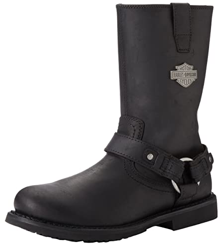 Harley Davidson Mens Brown Boots Leather Josh
