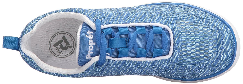 Propet Shoe Women's TravelFit Pro Walking Shoe Propet B01KNVJ3VM 6.5 W US|Blue/White 38493a