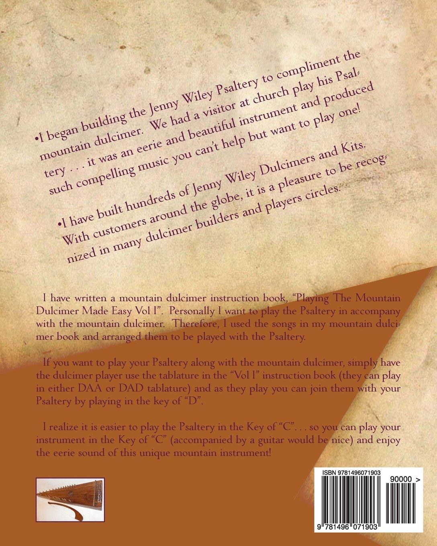 Playing The Psaltery Made Easy Vol I: Jeffrey Allen Lambert: 9781496071903:  Amazon.com: Books