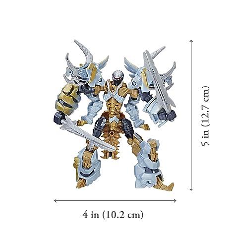 Transformers: The Last Caballero Premier Edition Deluxe Dinobot Slug: Amazon.es: Juguetes y juegos