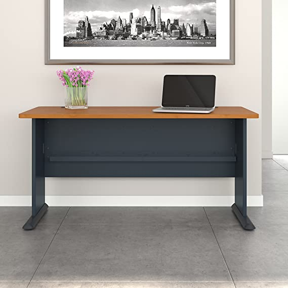 Amazon.com: Bush Business Furniture Series A 36W Desk ...