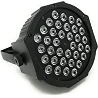 Foco LED para iluminación de escenarios, con control de sonido, foco de luz para fiestas, discotecas, DJ, espectáculos, proyector de luz…