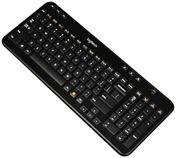 ea424276b1a Logitech K360 Wireless Keyboard, Black, English (920-004088): Amazon.ca:  Computers & Tablets
